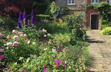 Country cottage garden (Berkshire)