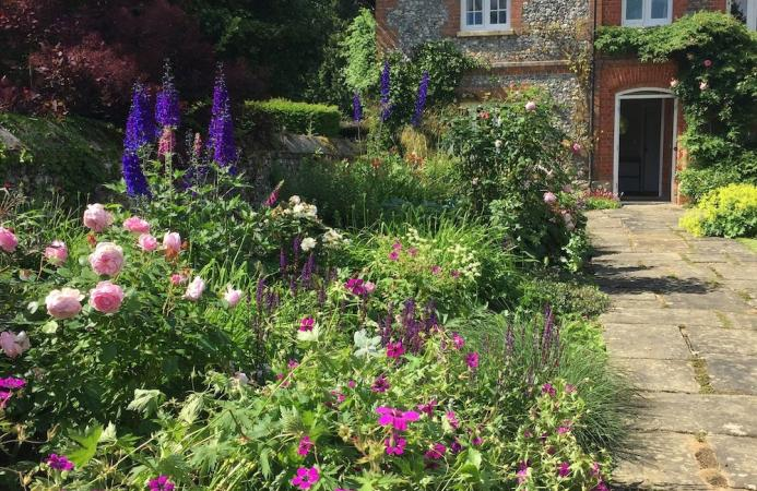 Country cottage garden, Berkshire