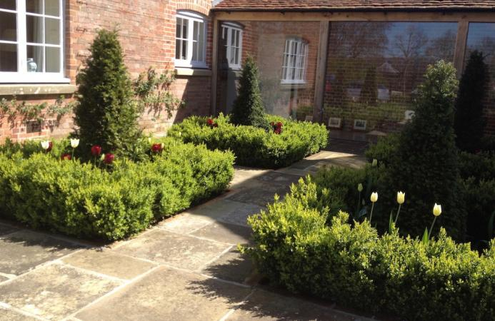 Front courtyard, Country Estate, Hampshire