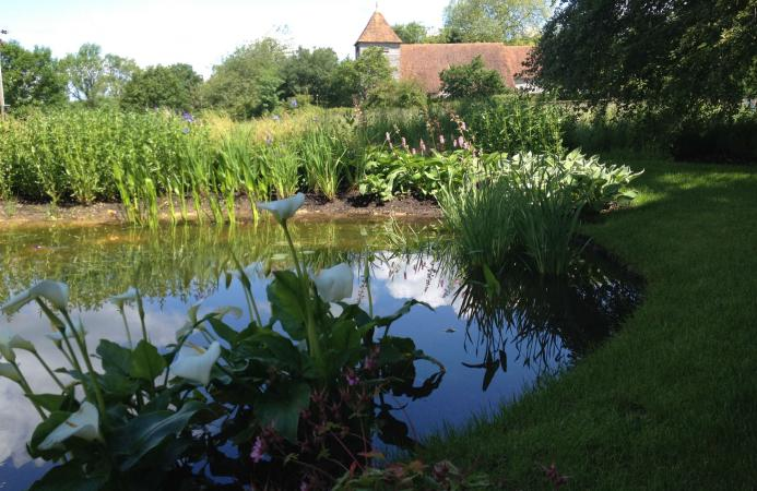 Nature pond, Country Estate, Hampshire