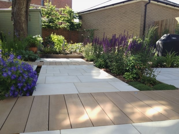 Contemporary Garden - Chichester, Sussex