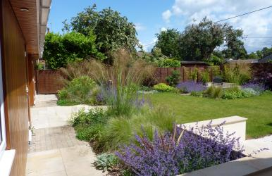Modern Garden Design (Romsey, Hampshire)