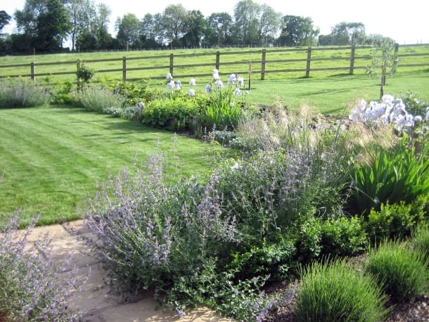 Rural garden hampshire amy perkins garden design for Garden design hampshire