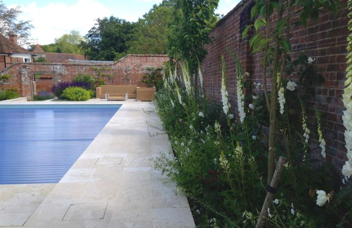 Pool Garden, Country Estate, Hampshire