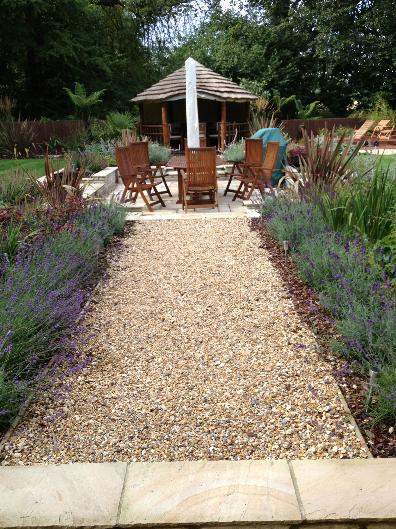 Entertaining Garden - Hampshire
